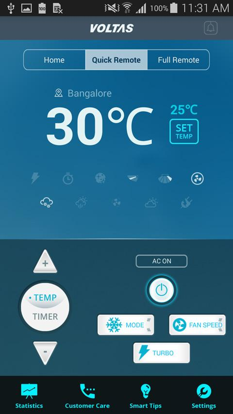 Voltas All Weather AC Remote 3 5 APK Download - Android Tools Apps