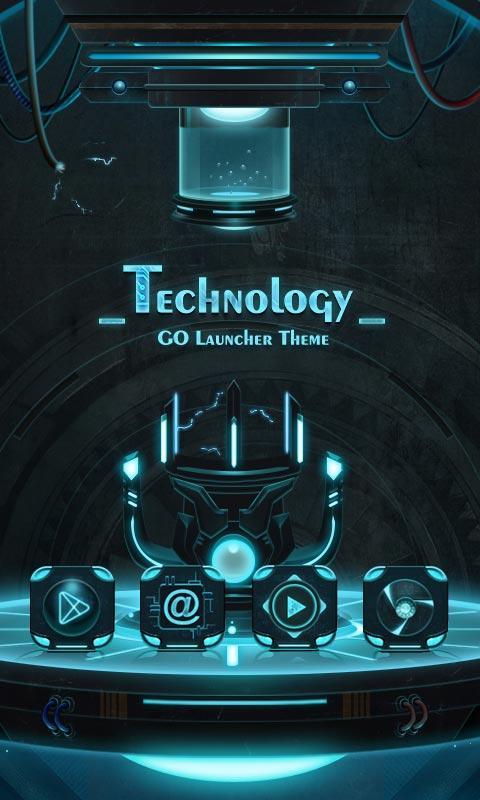 Technology GO Launcher Theme Screenshot