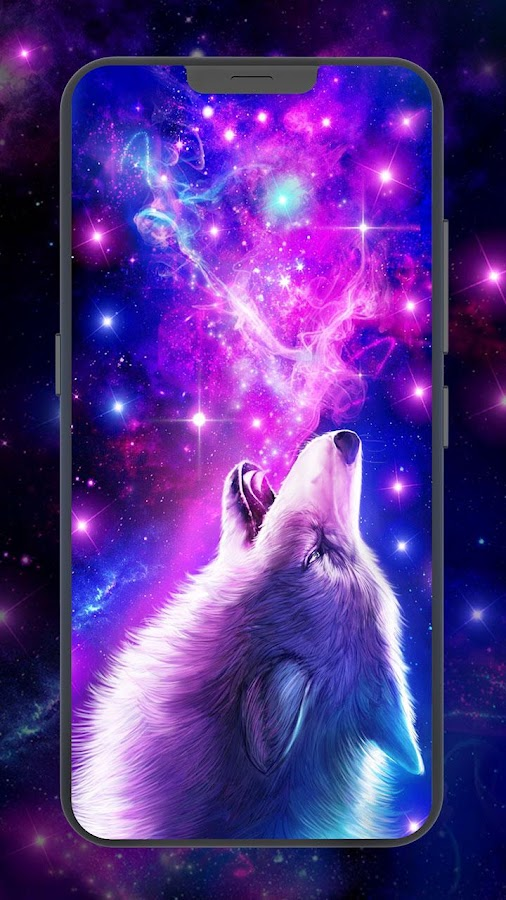Galaxy Wolf Live Wallpaper 143 Apk Download Android