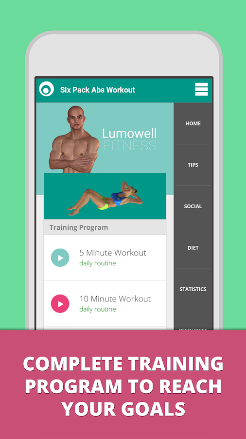Six Pack Abs Workout Lumowell 11721 Screenshot 1