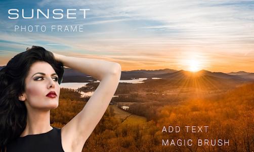 Sunset Photo Frame 2017 1.0.2 screenshot 2
