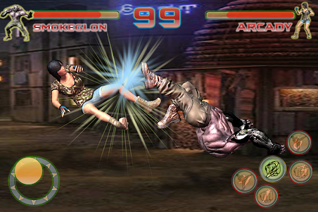 Shadow Ninja Kung Fu Fight 3D 1 screenshot 8