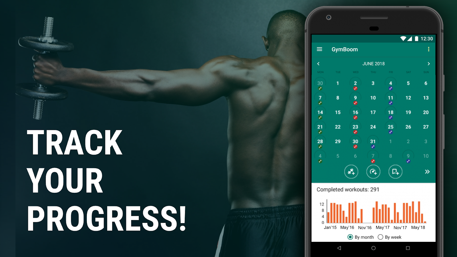 gymboom workout log fitness coach 2 4 6 apk download android