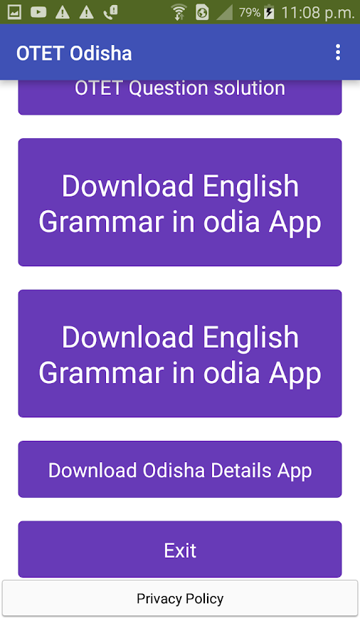 OTET Odisha 4 0 APK Download - Android Education Apps