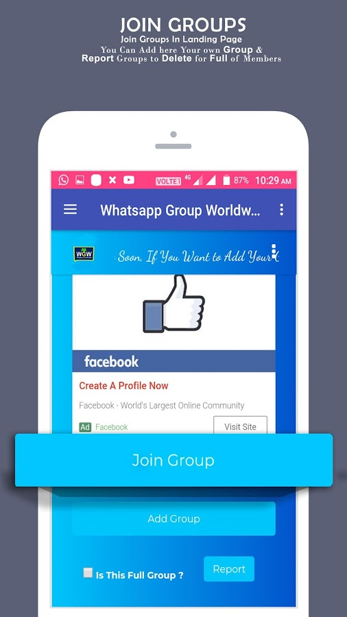 Link for Whatsapp Group - 3K+ Whatsapp Group Link 3 2 APK