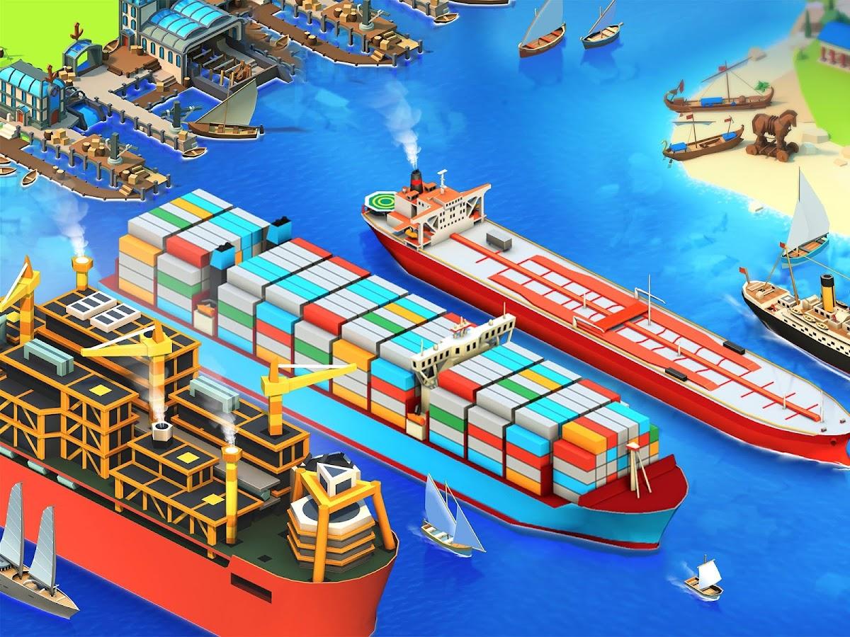 air com pixelfederation seaport explore collect trade 1 0 85 APK