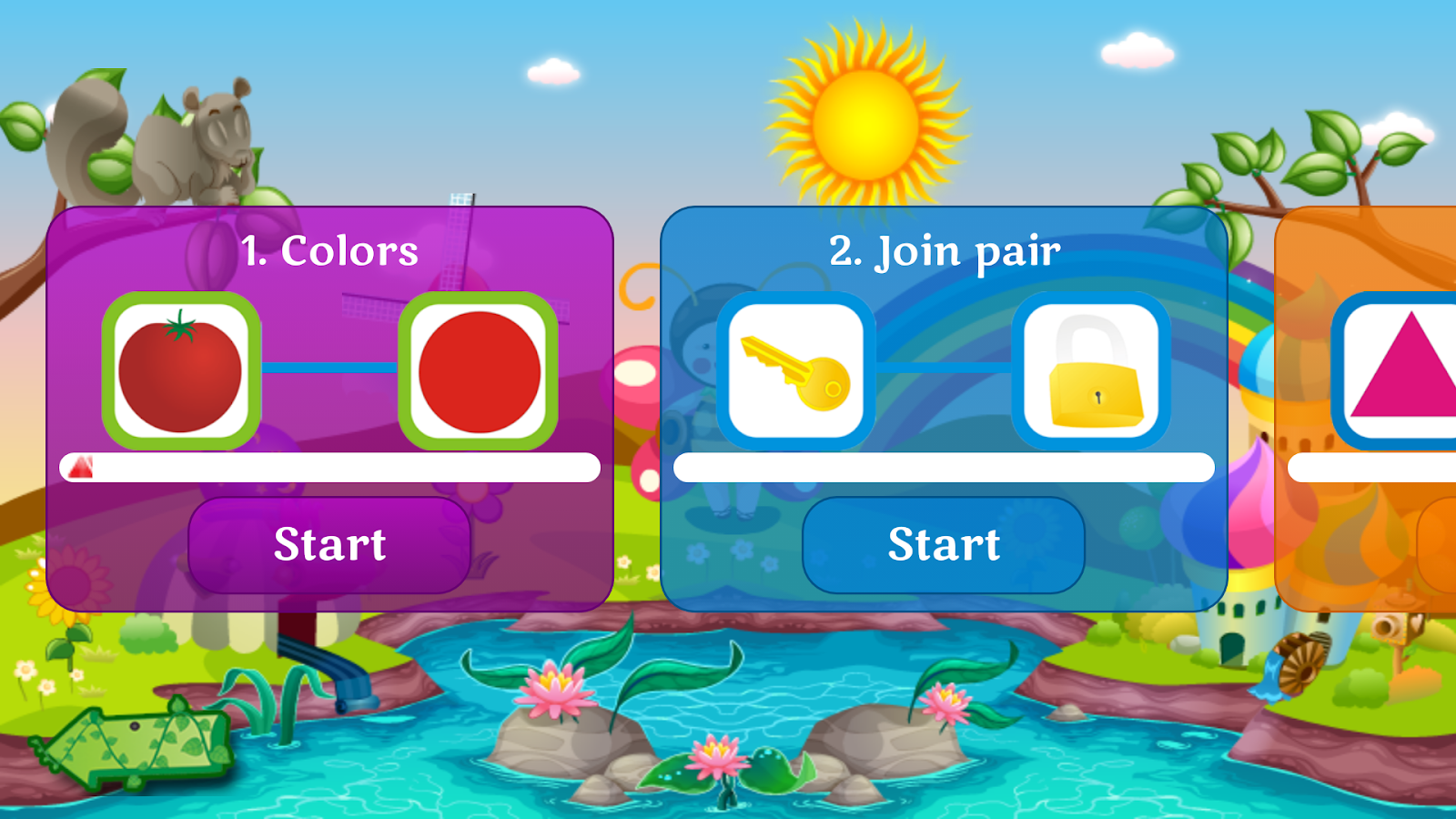 Kindergarten Fun 4.6 APK Download - Android Educational Games