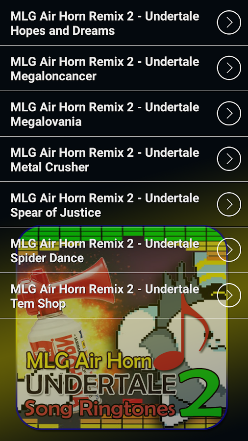 MLG Air Horn Undertale Ringtones 2 1 0 APK Download