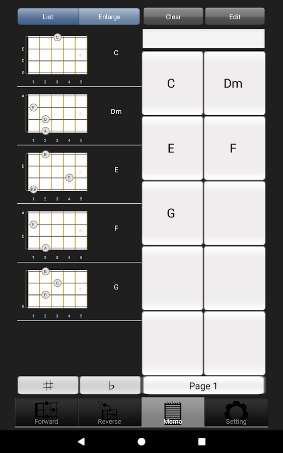 Uchord3 Ukulele Chord 3029 Apk Download Android Music Audio Apps