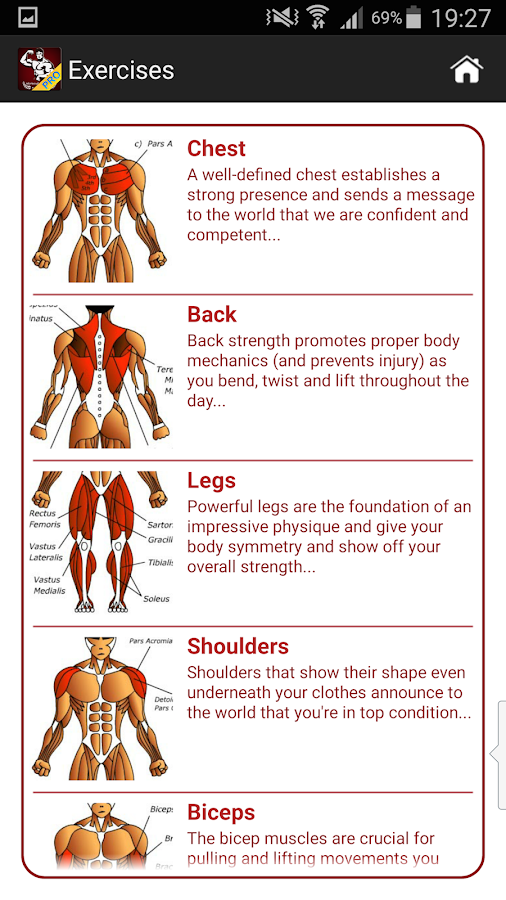 Mega Muscle Gain Workout FREE 1.2.7 APK Download - Android ...