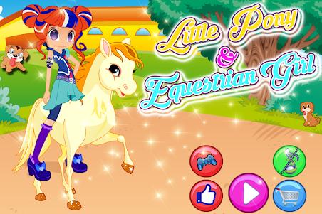 Little Pony & Equestrian Girl 2.1 screenshot 1