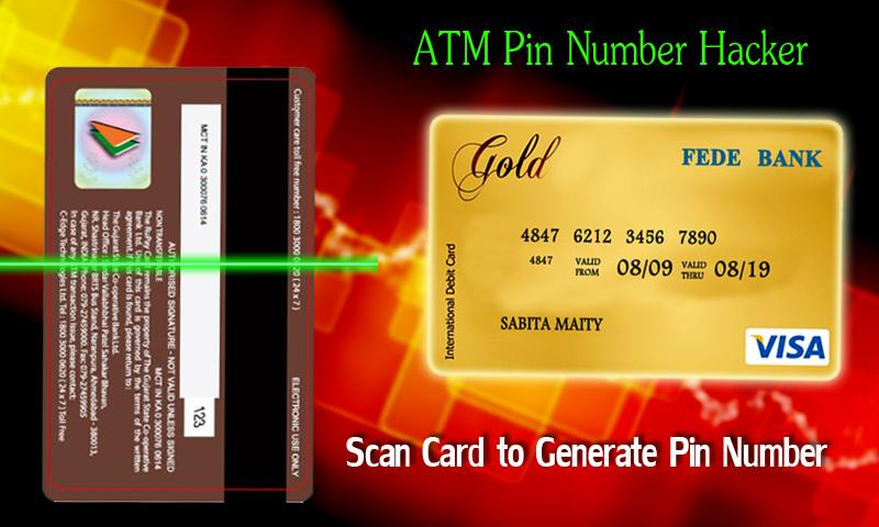 ATM Pin Finder Prank Scanner 1 0 1 APK Download - Android