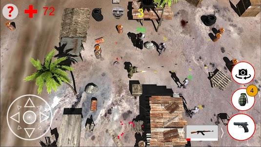Shooting Zombies Free Game 1.0 screenshot 11