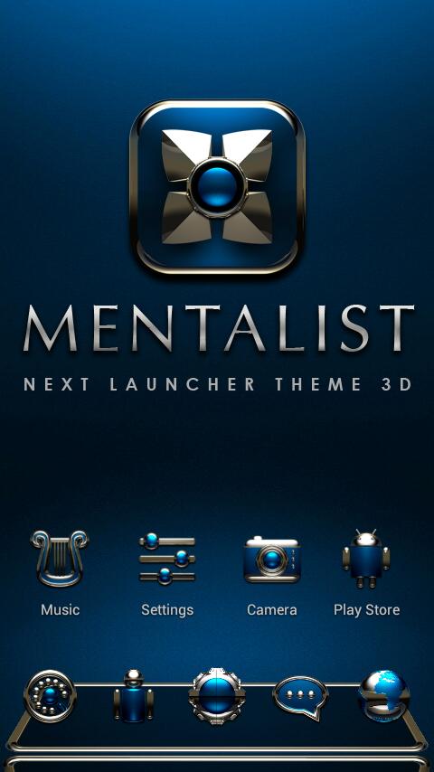 MENTALIST Next Launcher Theme 4 71 APK Download - Android