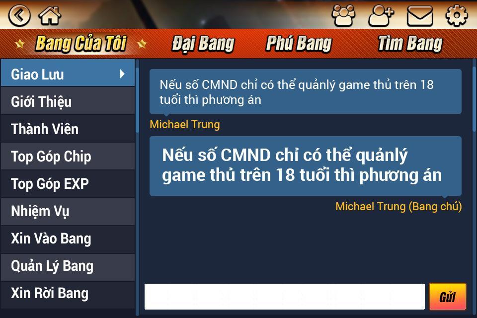 ... Game bài Tiến lên, Binh, 9Play 3.7 screenshot 13 ...