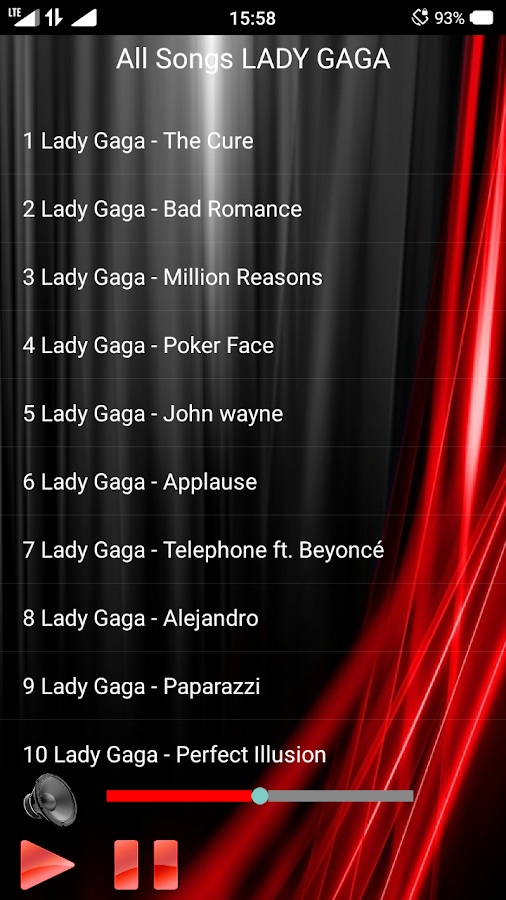 All Songs LADY GAGA 1 0 APK Download - Android Music & Audio Apps