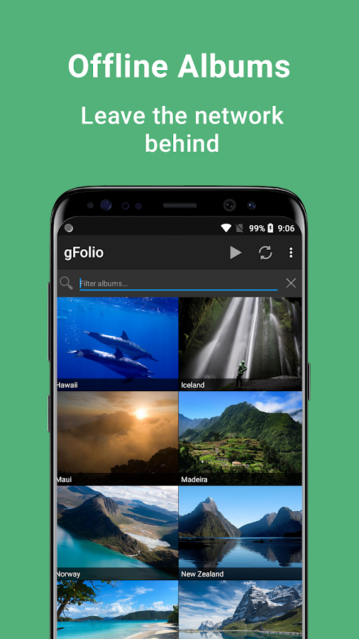 download photos from google photos to phone gallery