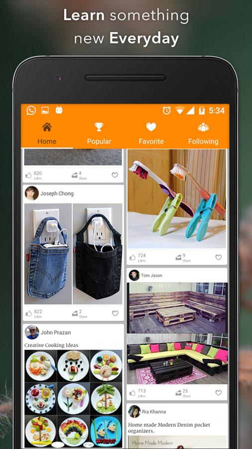 Creative Ideas Diy Craft 1 41 Apk Download Android Lifestyle Apps