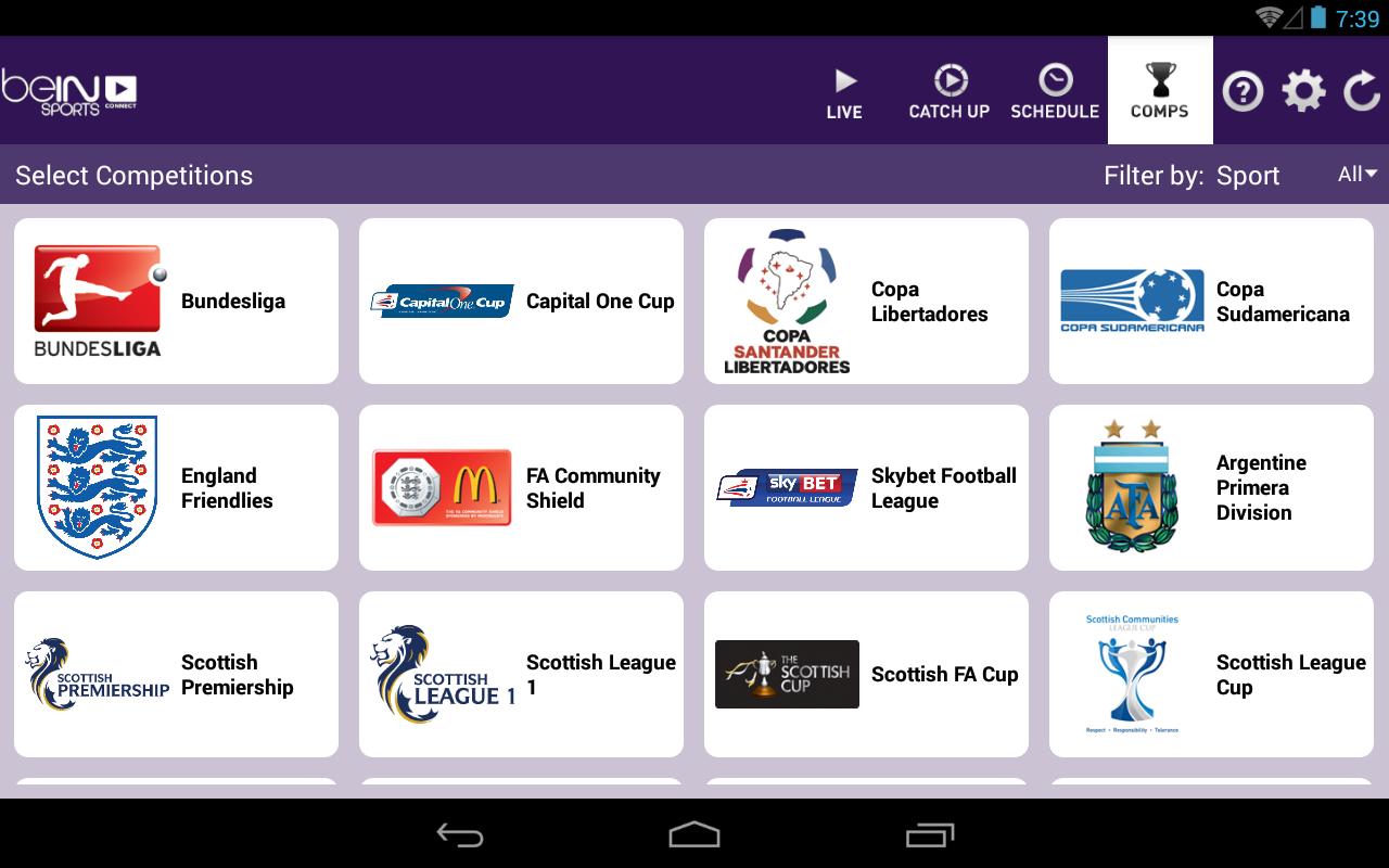 apk sports app