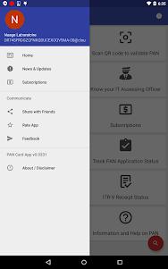 PAN Card Search, Scan, Verify & Application Status 1.0829 screenshot 8