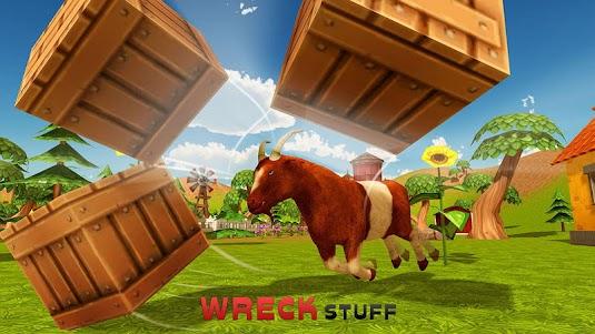 Goat Simulator City Rampage 3D 1.0.2 screenshot 2