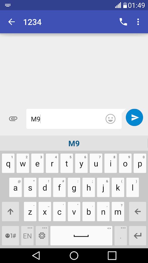 Theme M9 for LG Keyboard 1 1 APK Download - Android