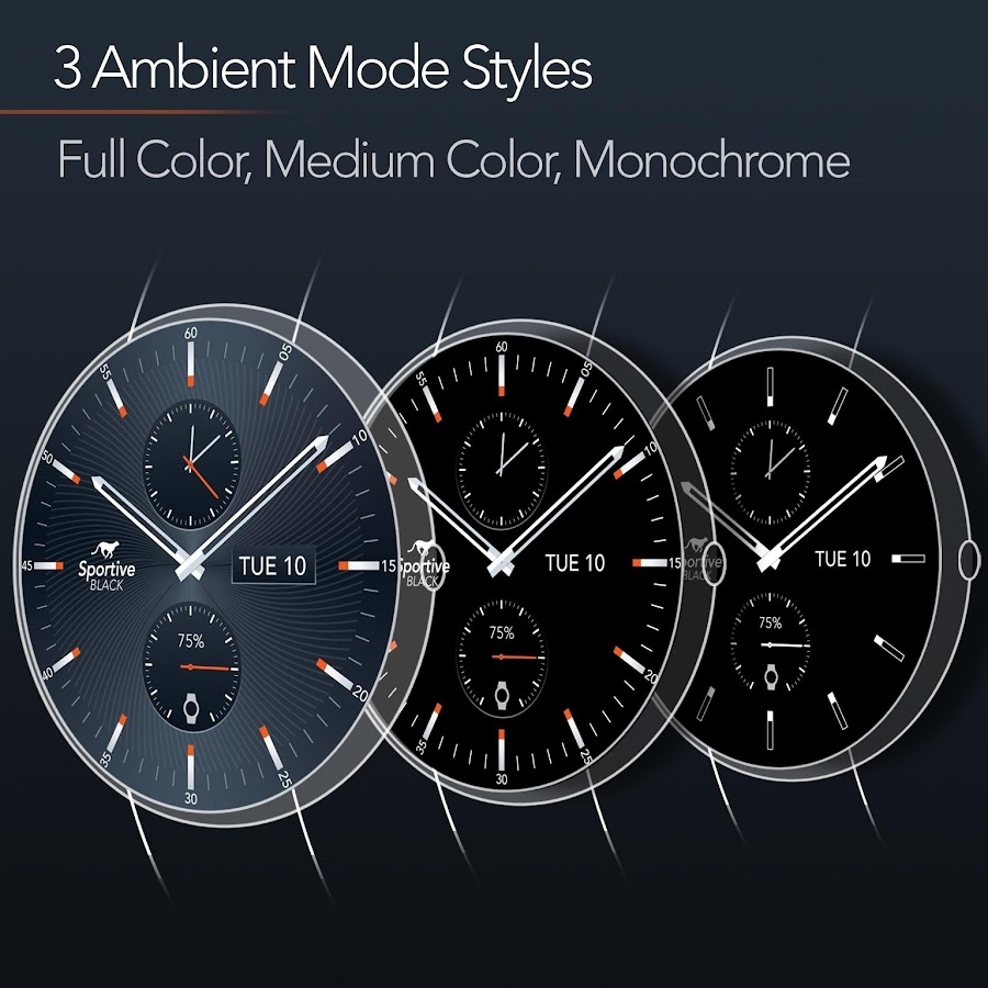 Sportive Watch Face 20 Apk Download Android Personalization Apps Circuit Board Clock V 10 For G Facerepo Screenshot 14