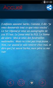 Meilleures Blagues françaises 2.2.5 screenshot 5