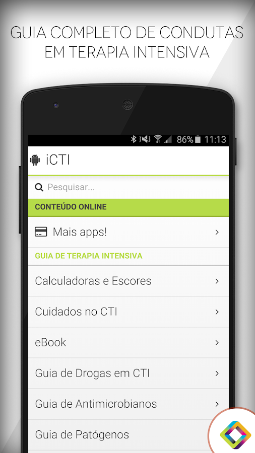 Terapia intensiva guia de cti 42 apk download android medical apps terapia intensiva guia de cti 42 screenshot 17 fandeluxe Image collections