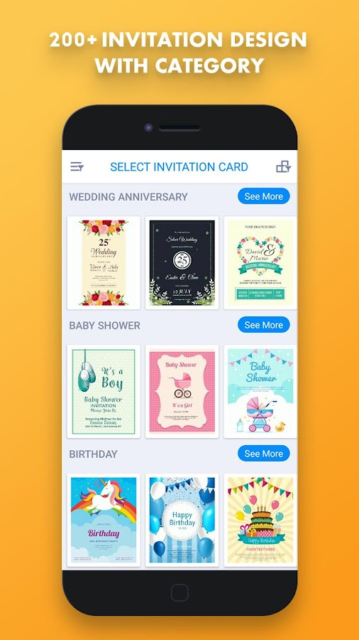 Invitation Card Maker Creator Rsvp 1 0 4 Apk Download