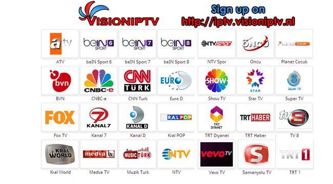 VisionIPTV - Turkish World TV 1 0 APK Download - Android