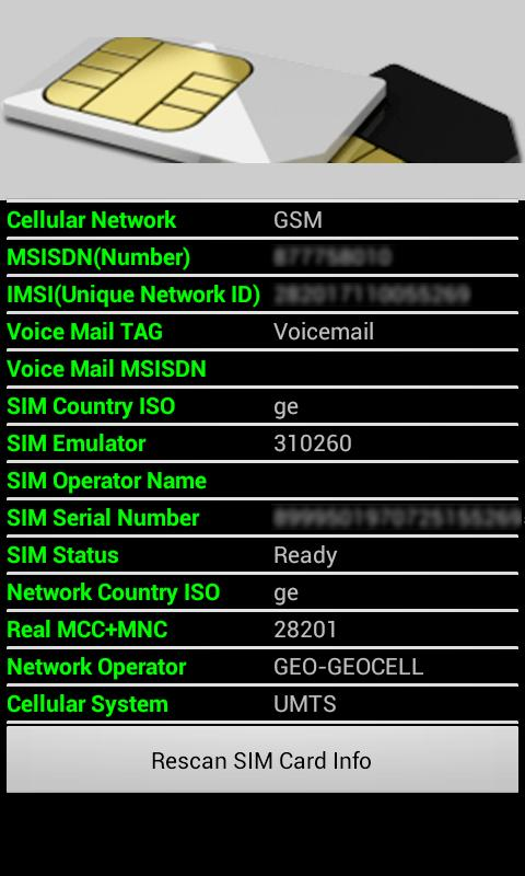 Sim Card Information 4 0 0 APK Download - Android Communication Apps