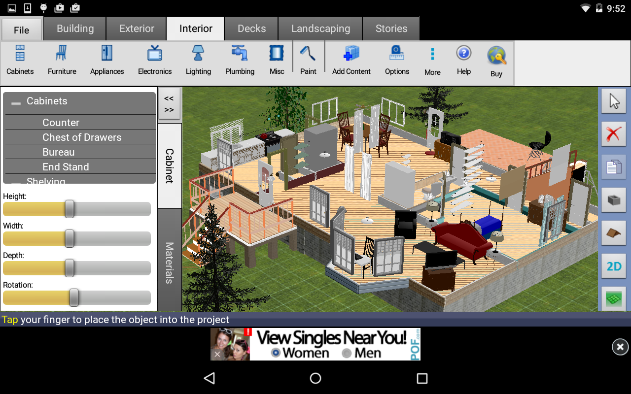 Dreamplan home design free apk download android Free home design app