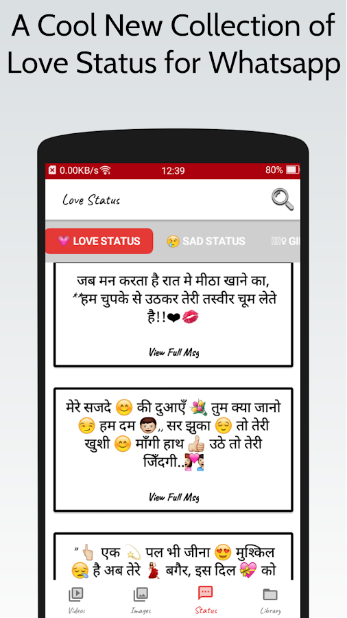 Love Video Status For Whatsapp 60 Apk Download Android