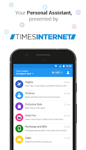 Haptik Assistant - Reminders, Flights, Daily Quiz 6.15.0 screenshot 1
