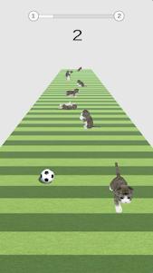 Kitty Soccer 1.0.4 screenshot 1