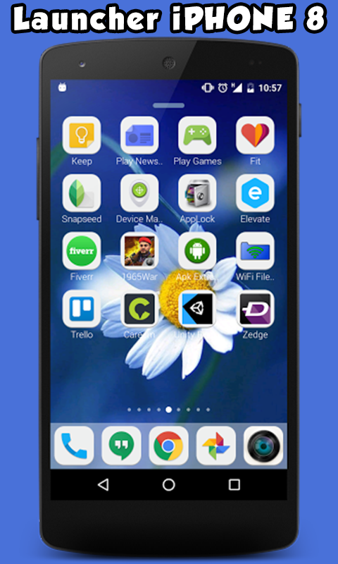 Launcher For iPhone 8 1 0 0 APK Download - Android Personalization Apps