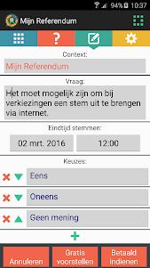 Mijn Referendum 1.2.0 screenshot 4