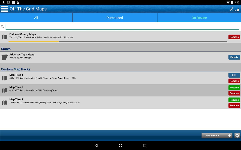 Trimble Outdoors Navigator Pro 5 7 7 APK Download - Android Travel