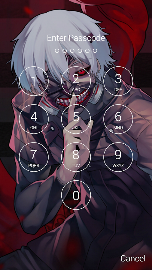 Fan Anime Lock Screen Wallpaper Of Ken Kaneki 13 Screenshot 5