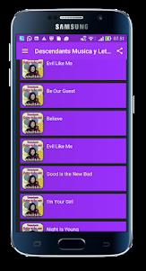 Descendant Music and Lyrics 1.5.0 screenshot 1