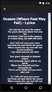 Hillsong United Songs&Lyrics. 1.1 screenshot 8