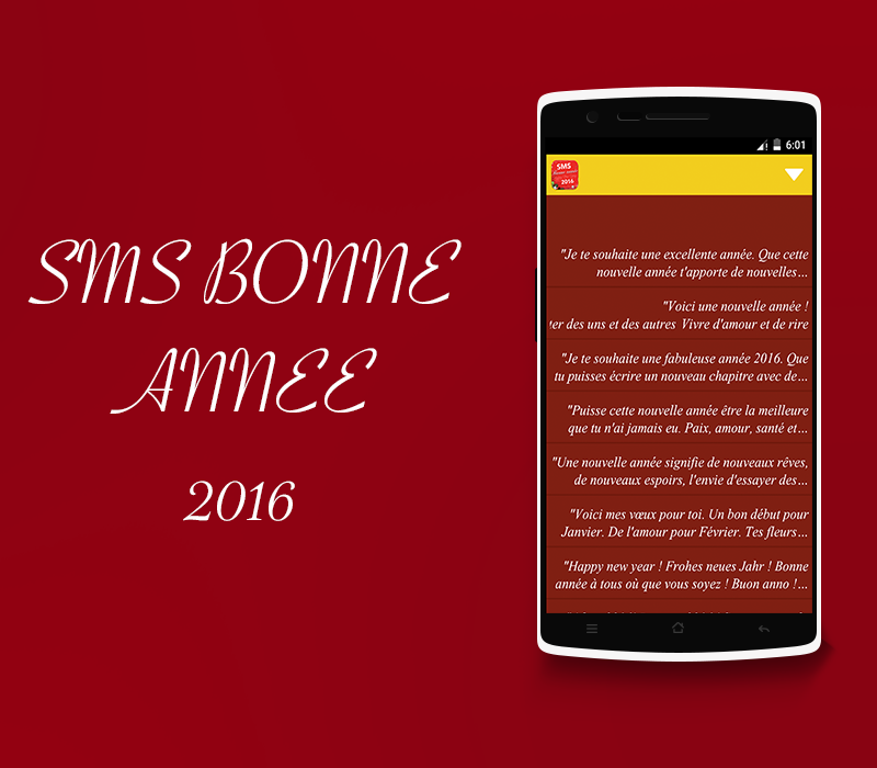 Sms Bonne Annee 2016 11 Apk Download Android Social Apps