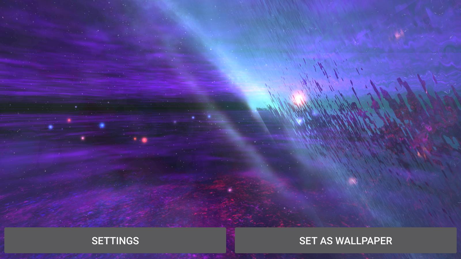 AlienGalaxy Screenshot 19 Alien Galaxy 3D Live Wallpaper