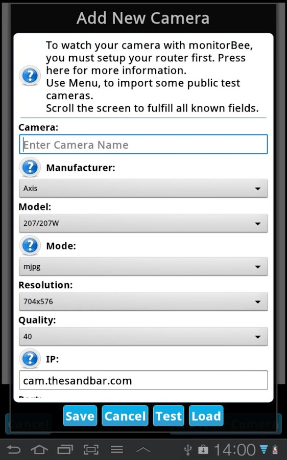 monitorBee Cam5 1 7 0 APK Download - Android Media & Video Apps