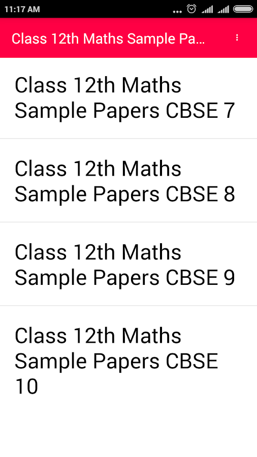 12th math CBSE pdf papers 1 2 APK Download - Android