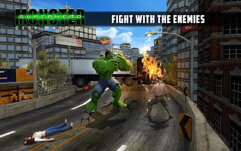 Superhero City Battle Monster Fighting 1.4 screenshot 2