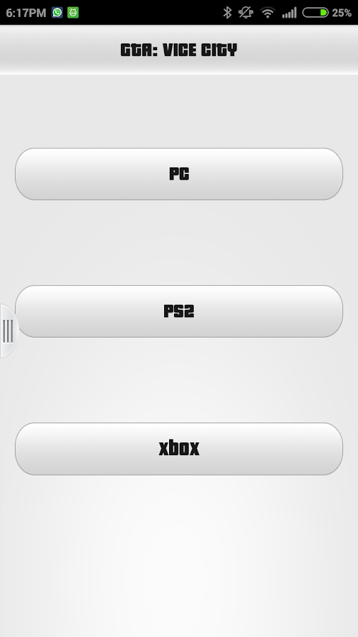 GTA Vice City Cheats 1 0 APK Download - Android