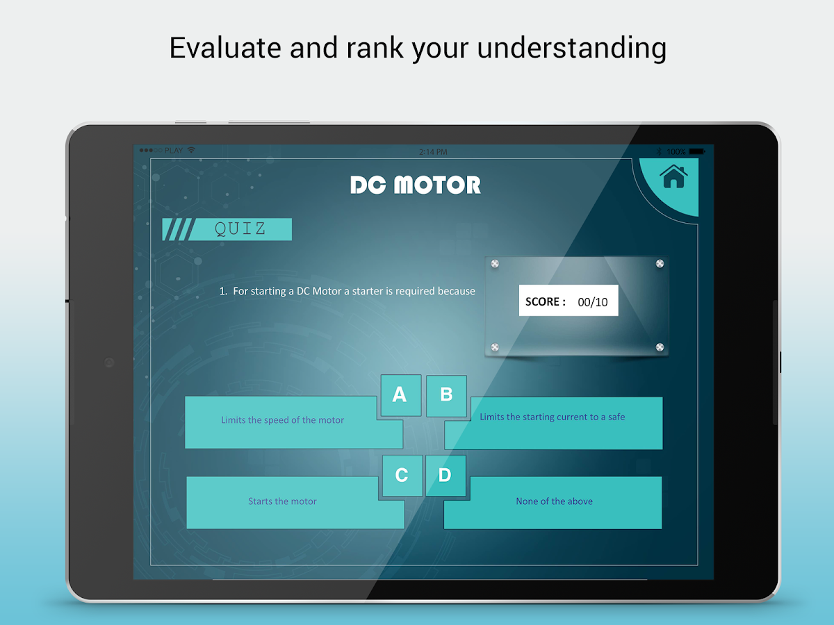 DC Motor & Fleming\'s Rule 1.4 APK Download - Android Education Apps