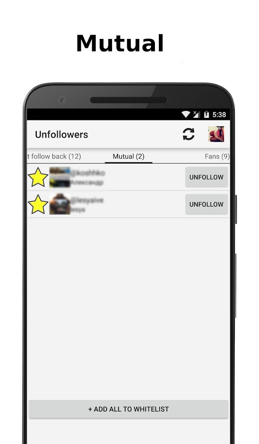 Unfollowers for Instagram 2 9 1 APK Download - Android